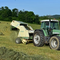 Step Four:  Baling Hay