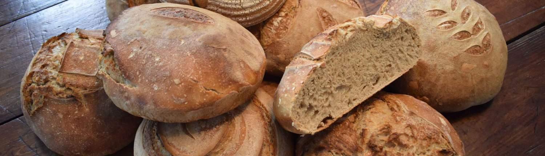 Bread made from healthy & tasty organic Weatherbury Flour
