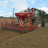 Planting Buckwheat • Weatherbury Farm