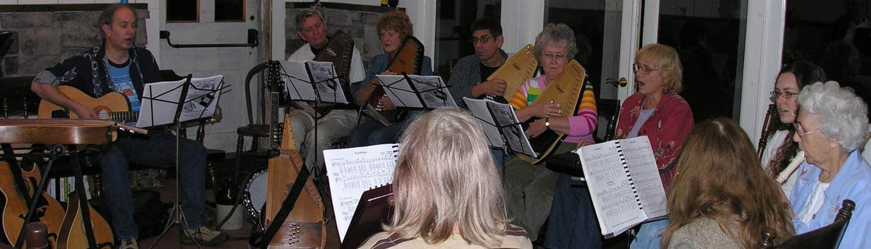 Folk Music Jam Slider · A Weatherbury Farm Event