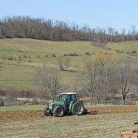Gehl Oats Planting 3.22.21 • Weatherbury Farm Grain Tracker 2021