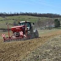 Gehl Oats Planting on 3.22.21 • Weatherbury Farm Grain Tracker 2021