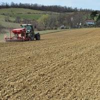 Planting Glenn Wheat 3.23.21 • Weatherbury Farm Grain Tracker
