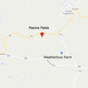 Maxine Wheat Field Map 2021 · Weatherbury Farm 2021 Grain Tracker