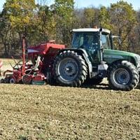 Planting Maxine Wheat • Weatherbury Farm Grain Tracker 2021