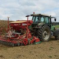 Planting emmer 10.14.21 • Weatherbury Farm